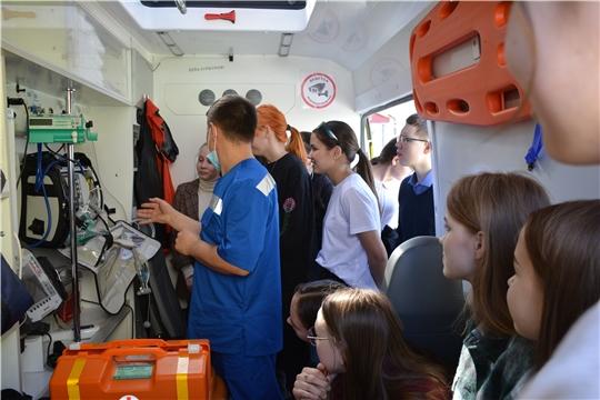 В чебоксарских школах проходят мастер-классы по оказанию первой медицинской помощи