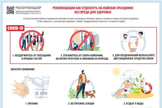 О рекомендациях как отдохнуть на майские праздники без вреда для здоровья