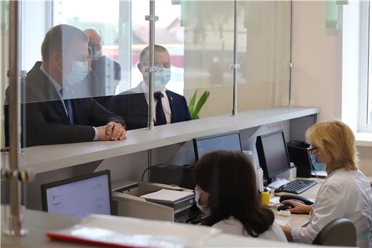 В День защиты детей министр здравоохранения Чувашии Владимир Степанов посетил Шемуршинский и Батыревский районы