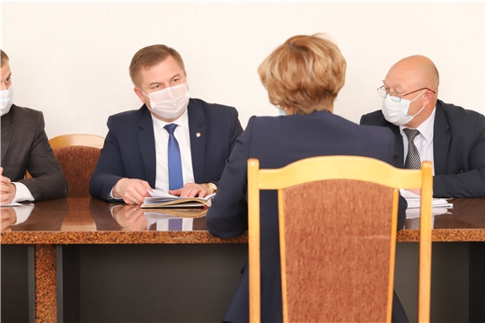 Министр здравоохранения Чувашии посетил Вурнарский район