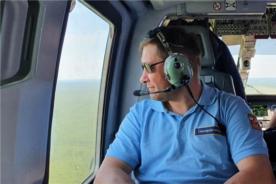 Вертолет санитарной авиации эвакуировал уже 45 пациентов в больницы Чебоксар