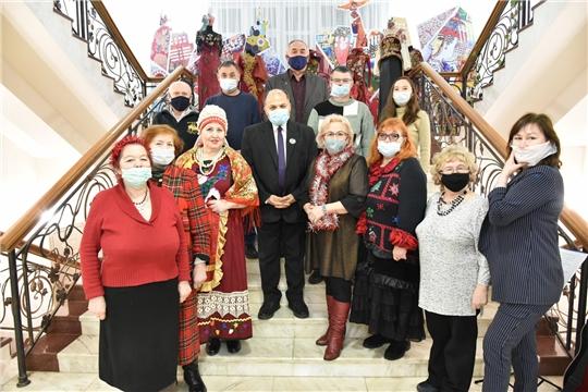 В Чувашском национальном музее прошла традиционная Литературная ёлка