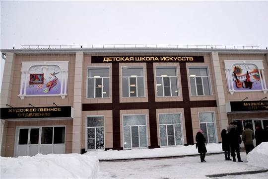Обновленная Батыревская школа искусств открылась после ремонта