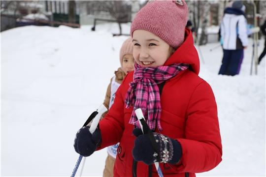 Лыжня в Шумерлинском районе