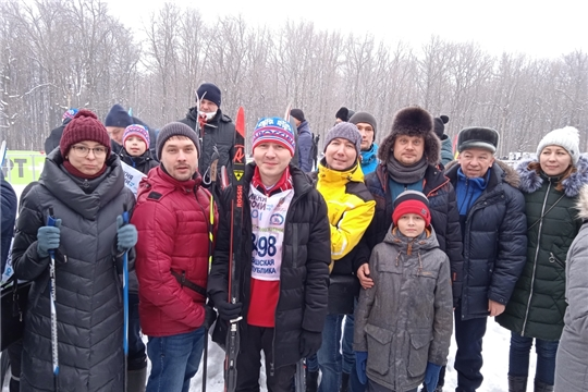 Сотрудники Минкультуры Чувашии приняли участие в «Лыжне России-2021»