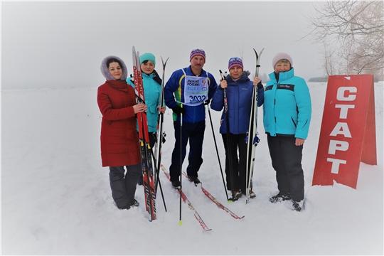 Министр культуры Светлана Каликова присоединилась к  «Лыжне России – 2021» в Шумерлинском районе
