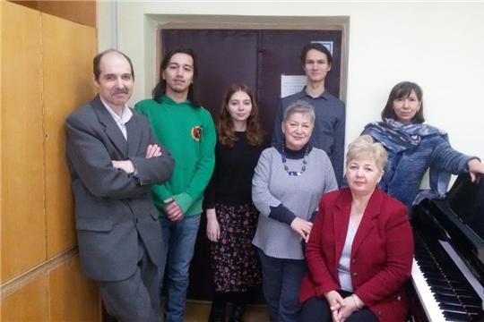 II Всероссийский конкурс «VIVA, SOLFEGGIO!» прошёл в Чебоксарском музыкальном училище
