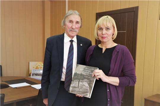 Министр культуры Светлана Каликова встретилась с известным художником-живописцем Анатолием Рыбкиным