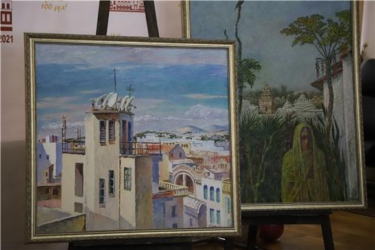 Коллекция Чувашского национального музея пополнилась картинами Анатолия Рыбкина