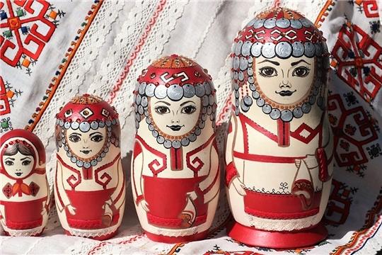 """""""Родные узоры"""" чувашской вышивальщицы из Санкт Петербурга"""
