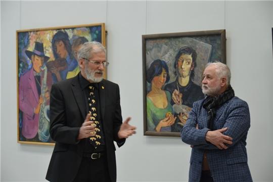 В Центре современного искусства открылась выставка живописи Юрия Милославского