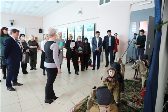 Министр культуры Чувашии Светлана Каликова ознакомилась с работой учреждений культуры Цивильского района