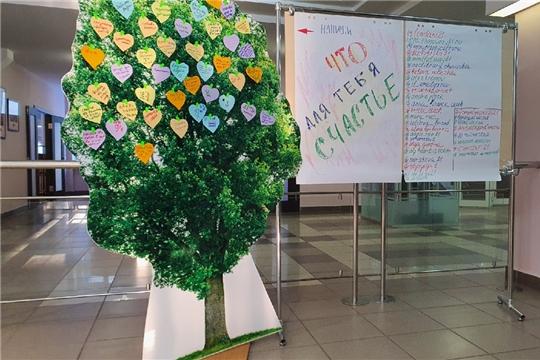 Всемирный день счастья в поддержку Фонда Ани Чижовой прошел в Национальной библиотеке