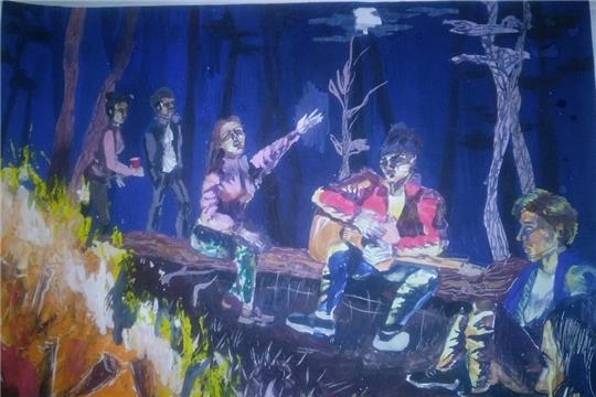 Картина молодой художницы из Чебоксар будет представлена в Третьяковской галерее в Москве