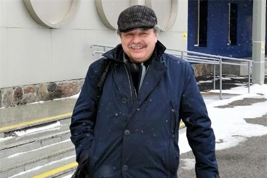 В Чебоксары для участия в «Неделе русской классики» прибыл Сергей Ильченко