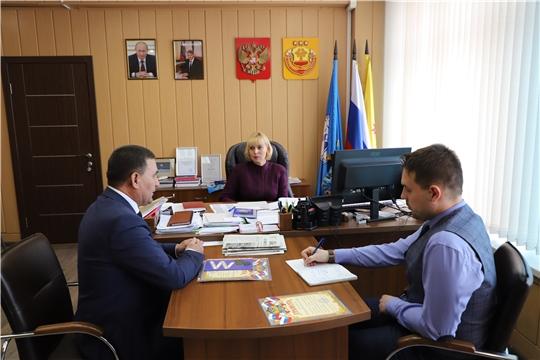 Министр культуры Чувашии встретилась с председателем Чувашской национально-культурной автономии Санкт-Петербурга