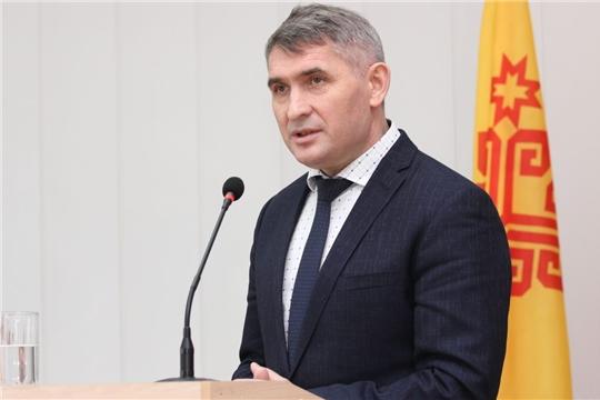 Олег Николаев коснулся вопросов культуры в выступлении перед депутатами Госсовета Чувашии