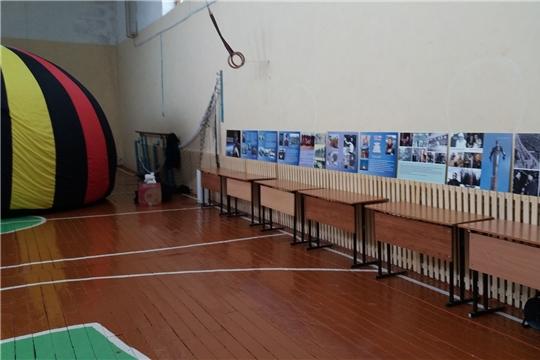 Передвижной музей космонавтики в гостях у Икковской школы Чебоксарского района