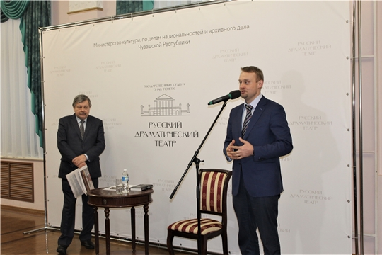 Заместитель министра культуры Георгий Богуславский  посетил «Театральную гостиную»
