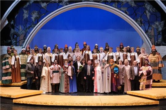 Опера «Царская невеста» - номинант Государственной премии Чувашской Республики в области литературы и искусства