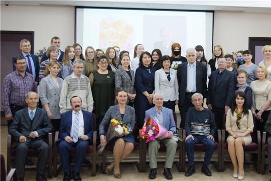 В Национальной библиотеке отметили юбилей Юрия Артемьева
