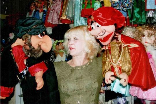 Чувашский театр кукол приглашает на юбилейный вечер заслуженной артистки России Надежды Алферовой