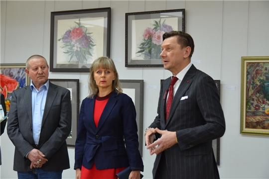 Выставка Ирины Миклушевской привлекла большое внимание студенческой аудитории