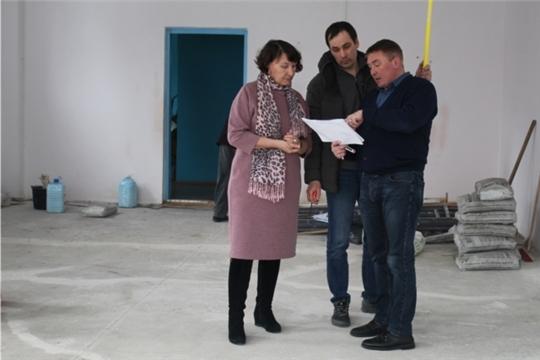 Начался ремонт Атлашевской сельской библиотеки