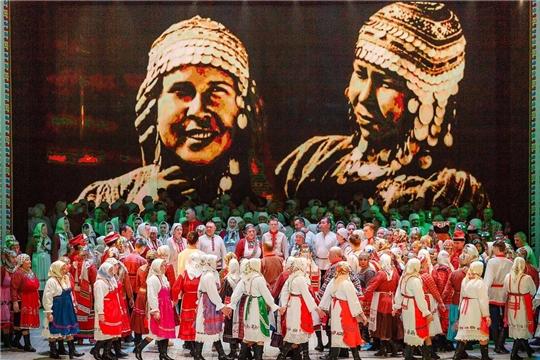 Фестиваль фольклора«ЧĂВАШ АХАХ-МЕРЧЕНĔ» прошёл в ДК Тракторостроителей