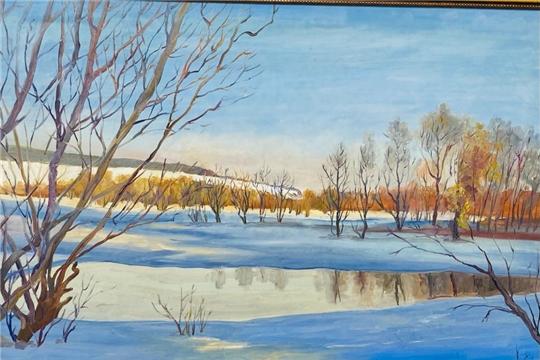 В Доме Дружбы народов состоялось открытие выставки чувашского художника Николая Николаева