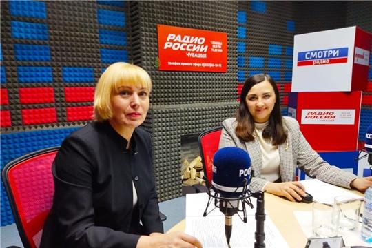 Министр культуры Чувашии Светлана Каликова приняла участие в программе «Открытая студия»