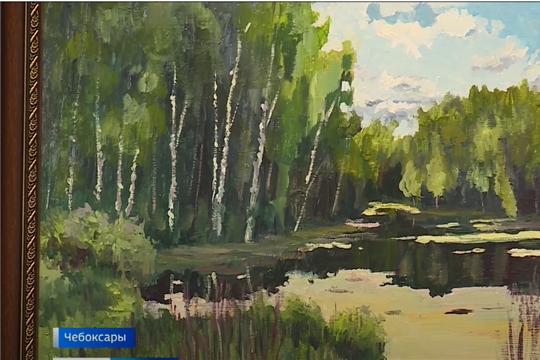 В Доме дружбы народов открылась выставка художника Николая Николаева