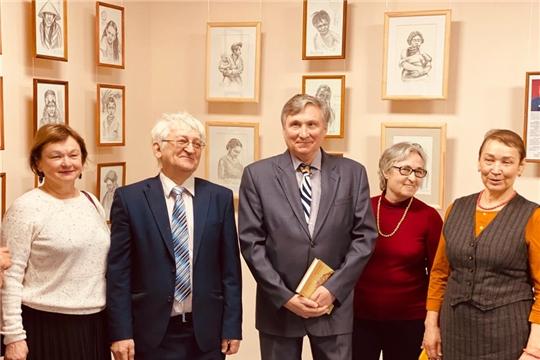 Портреты народов мира в графике педагога Альберта Ластухина