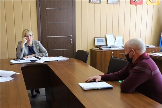 Светлана Каликова провела приём граждан по личным вопросам