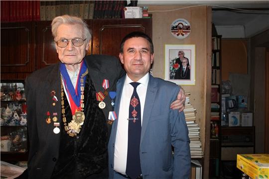 90-летний юбилей отметил Иезуитов Андрей Николаевич