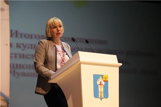 Светлана Каликова: «Нужны молодые люди с новым взглядом на организацию культурно-досуговой деятельности в районах республики»