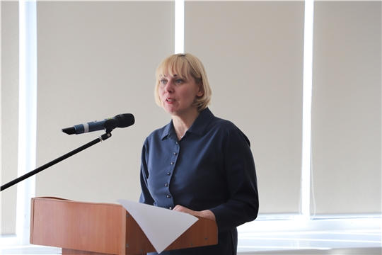 Министр культуры Светлана Каликова посетила Ибресинский район
