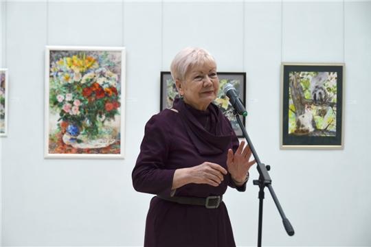 В ЧГХМ открылась выставка живописи и акварели Валентины Милославской