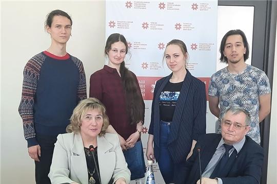 В Национальной библиотеке состоялась лекция М. Г. Кондратьева «Чувашская музыка»