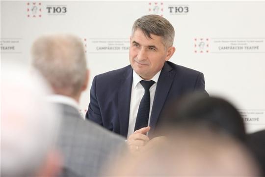 Олег Николаев поручил рассмотреть вопрос целевой подготовки режиссеров для учреждений культуры Чувашии