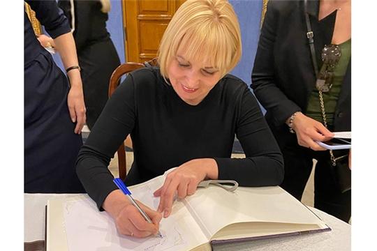 Министр культуры Чувашии познакомилась с творческими коллективами Краснодарского края