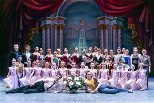 На XXV Международном балетном фестивале чествовали заслуженную артистку России и Чувашии Ольгу Серёгину