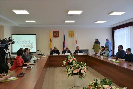 Состоялась пресс-конференция, посвященная премьере концертной программы «Сурский рубеж. Помни. Знай. Не забывай»