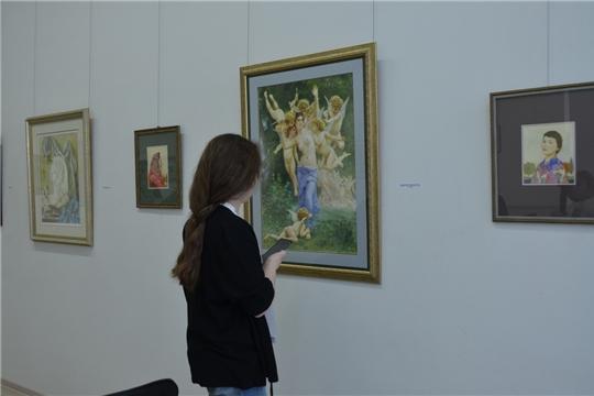 В ЧГХМ открылась выставка акварелистов