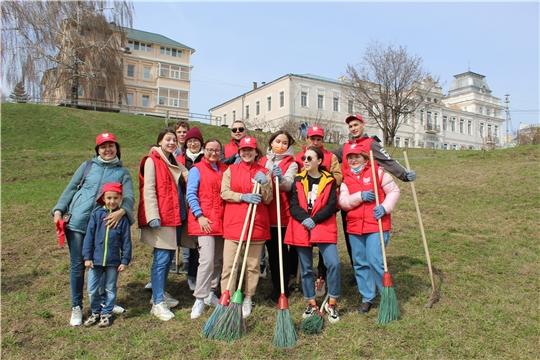 Студенты ЧГИКИ – волонтеры культурного субботника