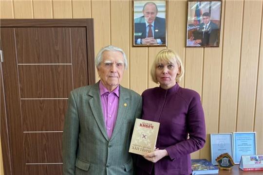 Светлана Каликова встретилась с народным писателем Анатолием Кибечем