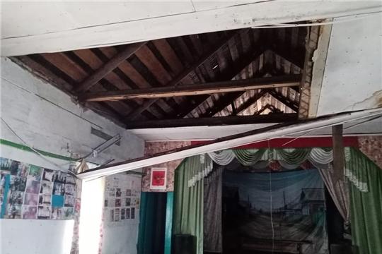 На месте аварийного здания сельского клуба в Батыревском районе появится новый дом культуры