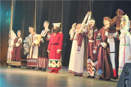 Национальный кукольный мюзикл «Голубка» от Чувашского театра кукол для юных театралов г.Новочебоксарск в «Неделе чувашского языка»
