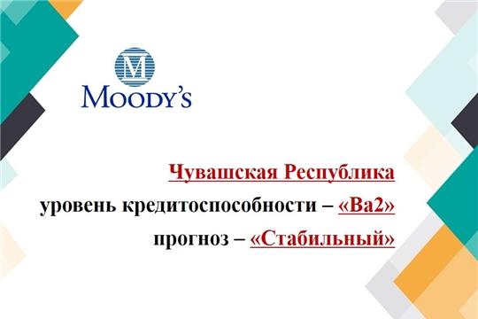 Агентство Moody's подтвердило долгосрочный рейтинг Чувашской Республики со стабильным прогнозом