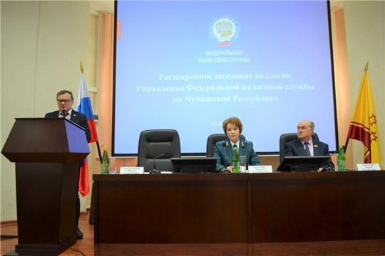 Михаил Ноздряков принял участие в расширенном заседании коллегии УФНС по Чувашской Республике